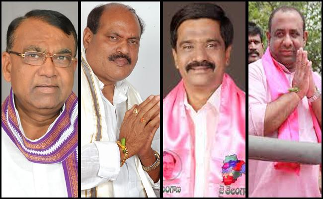 TRS Party Candidates Ready To Nominations In Elections - Sakshi