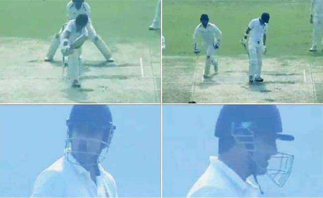 Gautam Gambhir infuriated after umpiring howler - Sakshi