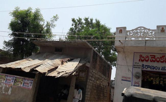 Current Wires On Houses In Nagarkurnool - Sakshi