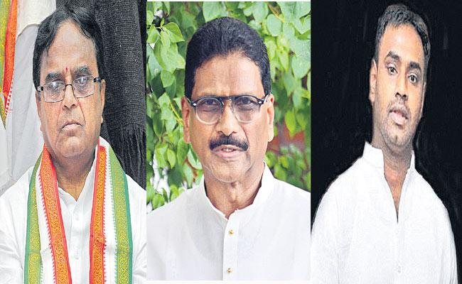 Telangana Elections 2018 Congress Party Changed Some Candidates Constituencies - Sakshi