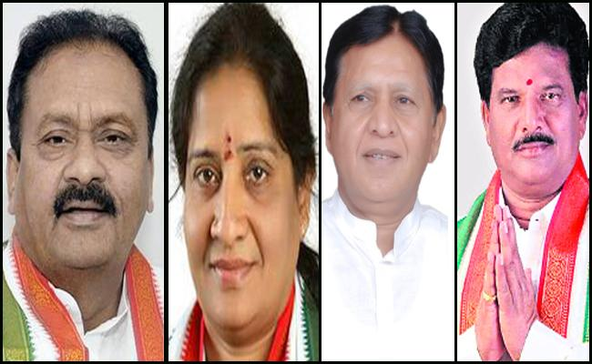 Congress Party Releases Five Candidates In Nizamabad - Sakshi