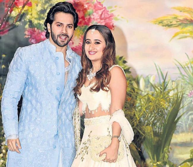 arun Dhawan Admits Dating Childhood Friend Natasha Dalal On Koffee With Karan - Sakshi