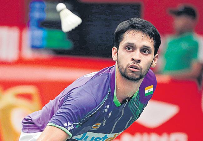 Parupalli Kashyap qualified for the draw at Badminton Tournament - Sakshi