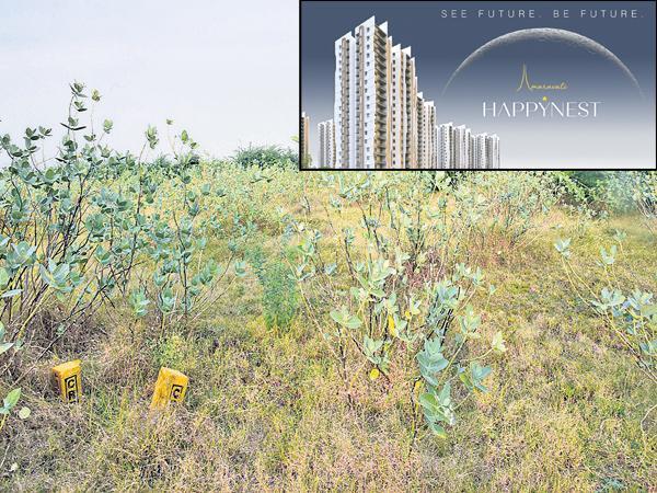 Real estate in farmers lands At CRDA - Sakshi