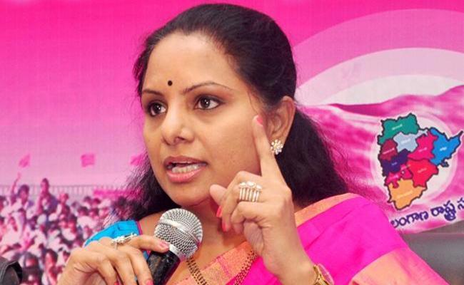 MP Kavitha Pressmeet in Jagtial - Sakshi