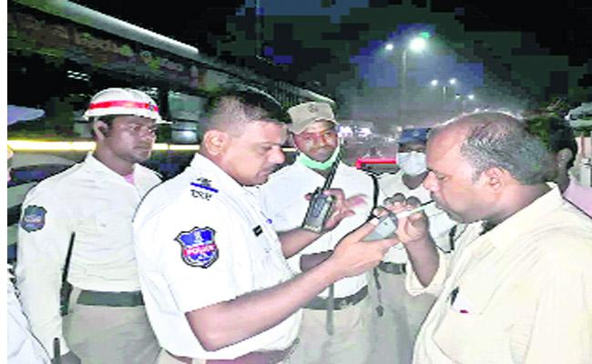 Punishments For Drunk And Drive Cases - Sakshi