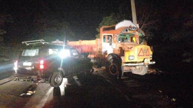 Pawan Kalyan Bouncers Vehicle Accident In East Godavari - Sakshi