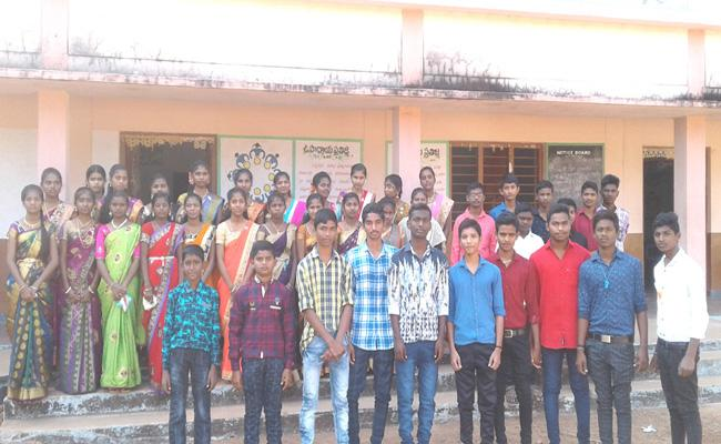 Students As Teachers In Children's Day - Sakshi