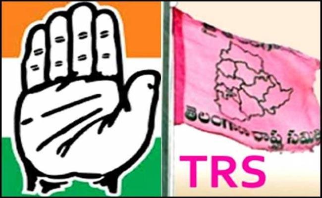Telangana Elections Congress And TRS Leaders Warangal - Sakshi