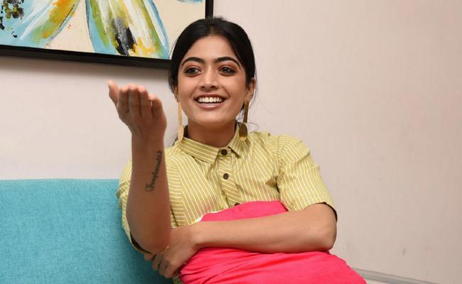 rashmika hashtag on Twitter - Sakshi