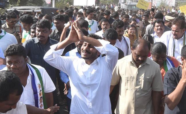YS Jagan 300th day Prajasankalpayatra Schedule released - Sakshi
