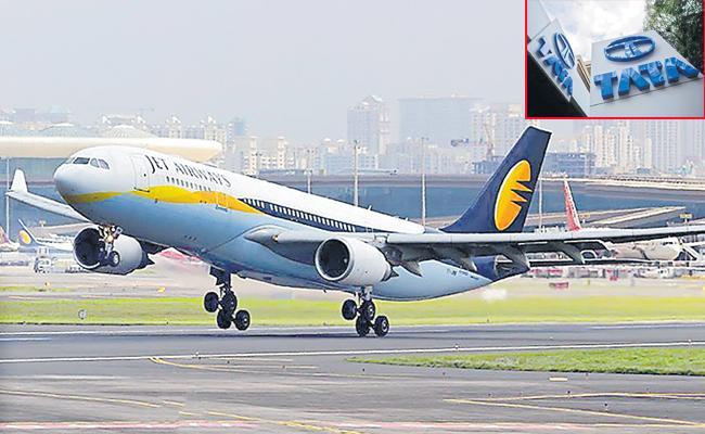 Tata's National Service won't be enough to Save Jet Airways - Sakshi
