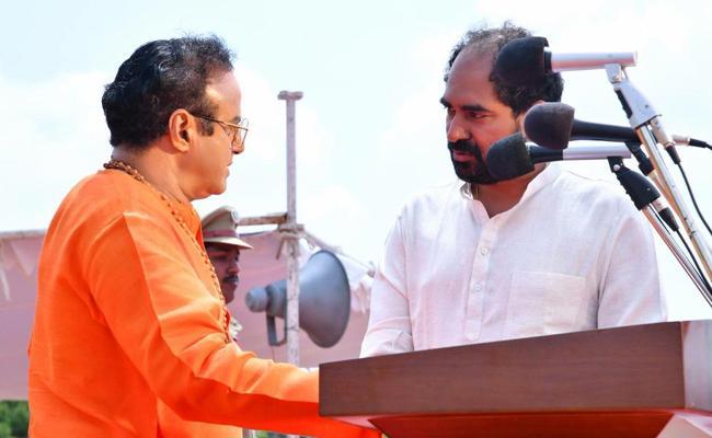 Sr NTR Voice For Few Scenes In Bala krishna NTR Biopic - Sakshi