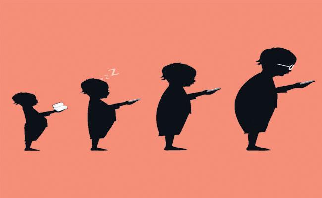 Smartphone Effects On Children - Sakshi