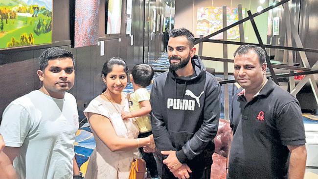 Avoid confrontation with Virat Kohli: Faf du Plessis tells Australia - Sakshi
