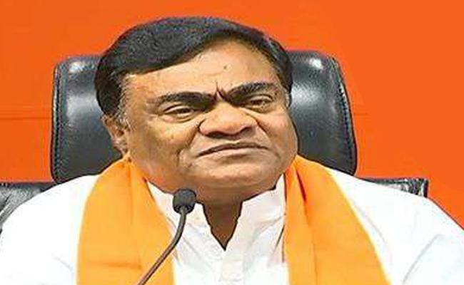 BJP Candidate Babu Mohan Slams Congress And TRS In Sanga Reddy - Sakshi