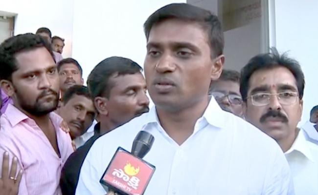 People Protects YS jagan Mohan Reddy Says Mithun Reddy - Sakshi