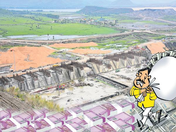 Devineni Uma Scam in Polavaram Project works - Sakshi