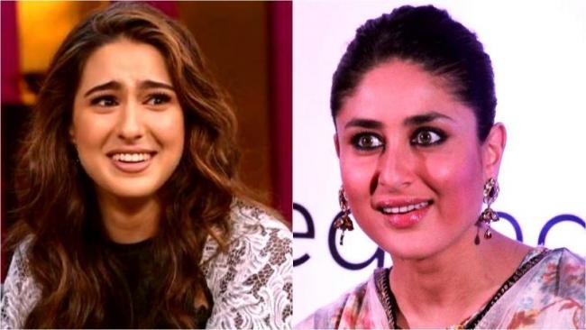 Sara Ali Khan Said If I Called Kareena Kapoor Khan As Choti Maa Then A Fell Down - Sakshi