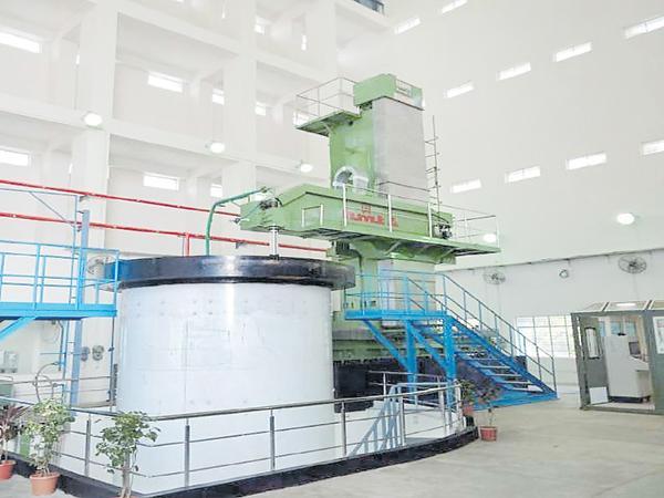 Huge machine from HMT to ISRO - Sakshi