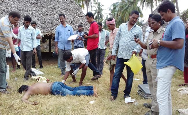 Young Man Murder In Visakhapatnam - Sakshi