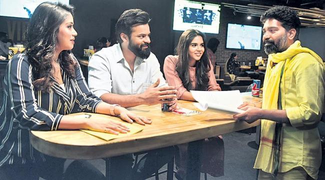 Sai Dharam Tej's Chitralahari Shoot Begins - Sakshi