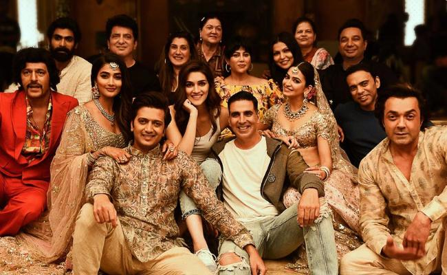 Akshay Kumar Housefull 4 Shooting Completed - Sakshi