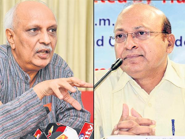 IYR Krishna Rao and Ajeya kallam Comments on TDP Govt - Sakshi