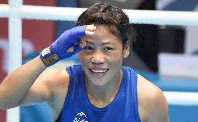 Mary Kom in semis, assured of 7th medal at World Championships - Sakshi