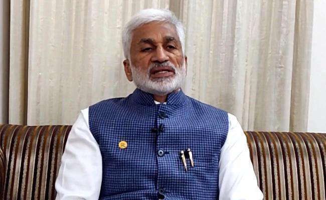 YSRCP Leaders Vijayasai Reddy Mocks Chandrababu on Twitter - Sakshi