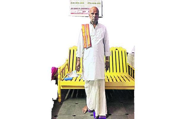 Ibrahimpatnam Ex MLA Kondigari Ramulu Interview - Sakshi