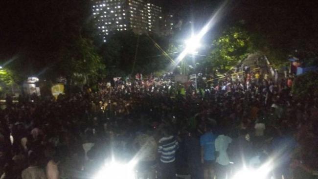 SRM University Students Protest After Worker Masturbates At Girl Inside Hostel - Sakshi