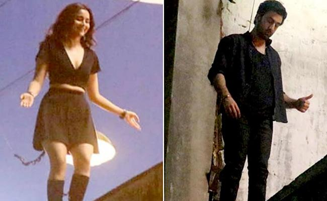 Ranbir Kapoor And Alia Bhatt Brahmastra Video Leaked - Sakshi