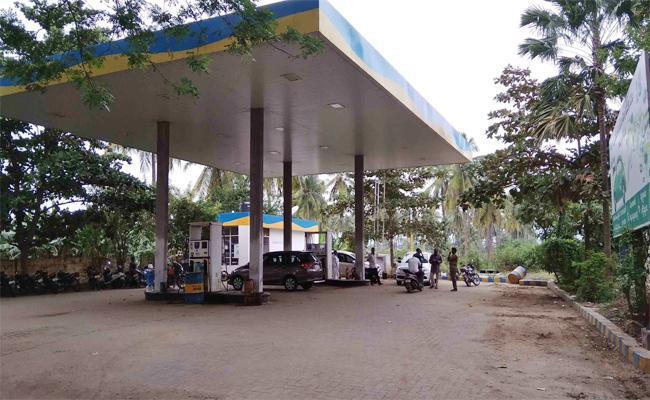 Vigilance Attacks on Petro; Bunk - Sakshi