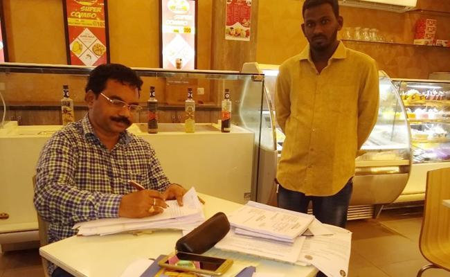 Vigilance Attacks On Hotel PSR Nellore - Sakshi