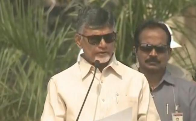 CM Chandrababu Attend The Air Show Program In Vijayawada - Sakshi