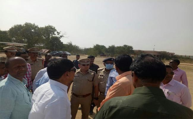 Give Security To The  PM Narendra Modi In Nizamabad - Sakshi