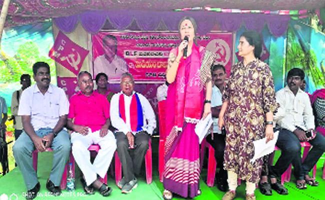 CPM Canvass In Bhadrachalam Constituency - Sakshi
