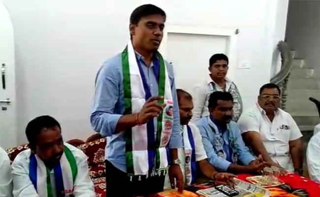YSRCP Former MP Mithun Reddy Fires On BJP - Sakshi