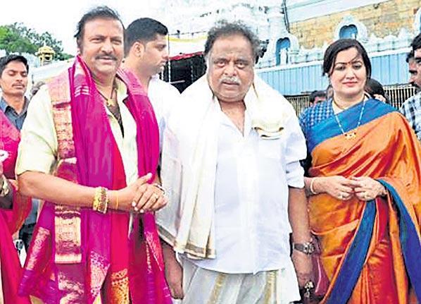 Mohan Babu condolences to Ambarish - Sakshi