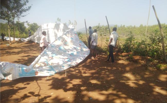 Rave Party Tents Removed in Visakhapatnam - Sakshi