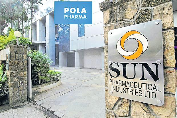 Sun Pharma buys Japanese drug maker Pola Pharma for derma products - Sakshi
