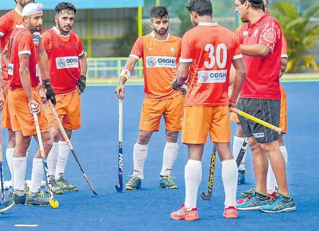 Mens Hockey World Cup: India to take on South Africa - Sakshi