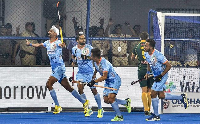 India Win Their Opening Encounter 5-0 In 2018 Hockey World Cup 2018 - Sakshi