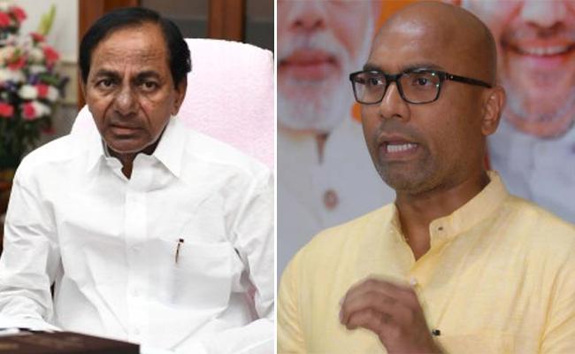 Dharmapuri Aravind Criticises KCR over Akberuddin Comment - Sakshi