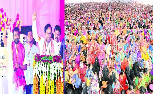 KCR Fair On Congress Leaders Mahabubnagar - Sakshi