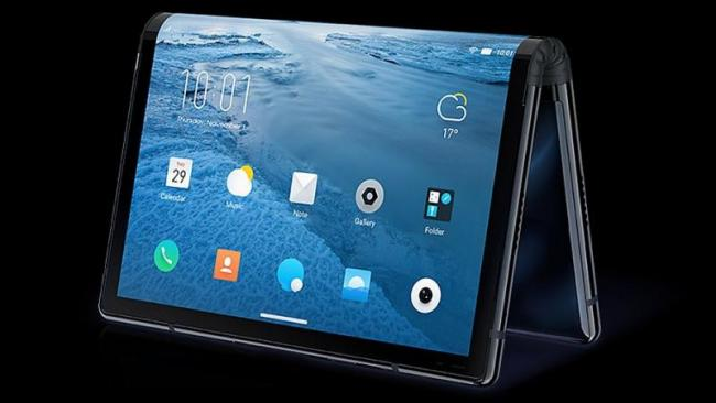 Foldable phone launched by Chinese company Royole - Sakshi