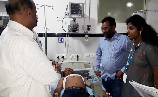 Heart Stroke To Tahasildar in Srikakulam - Sakshi