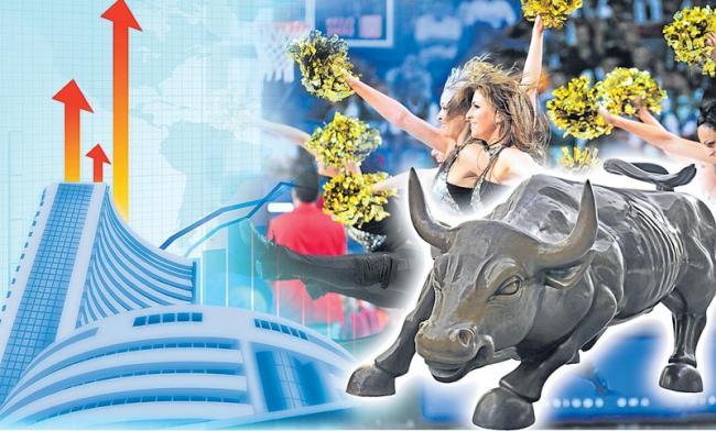 Sensex Closes Above 36,000, Nifty Settles At 10,858 - Sakshi