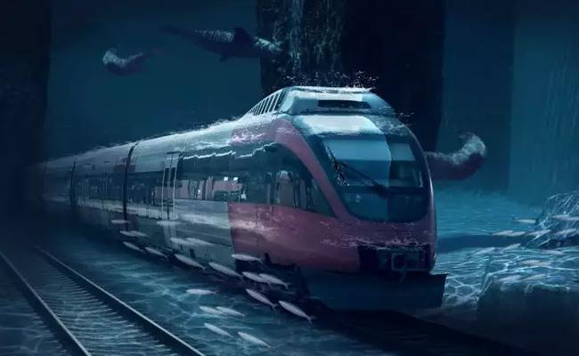 Underwater Train Will Connect Mumbai To The UAE Very Soon - Sakshi